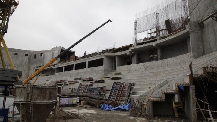Подключился федеральный бюджет:Самаре помогут достроить Дворец спорта на Молодогвардейской
