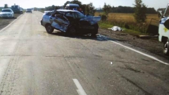 Две пассажирки погибли в ДТП со встречными«Ладами» на трассе