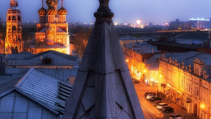 Фото дня. Непривычный взгляд на сказочную Рождественскую