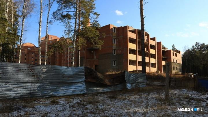 В Железногорске сдали три подъезда долгостроя, который стоял бесхозным 6 лет
