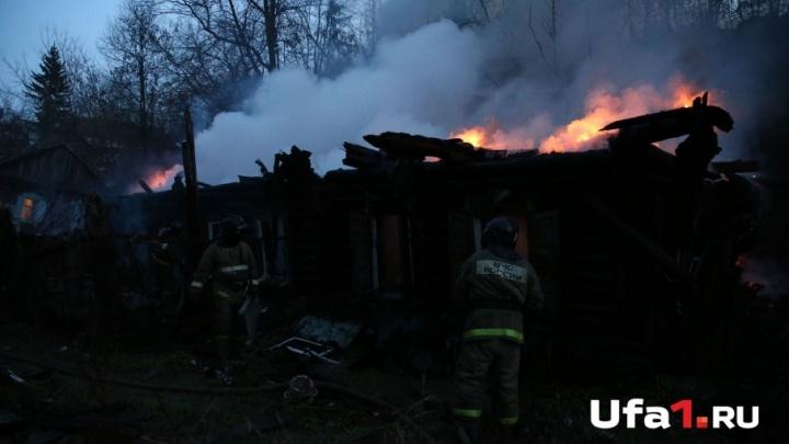 В Башкирии сгорел дом: погибли двое мужчин