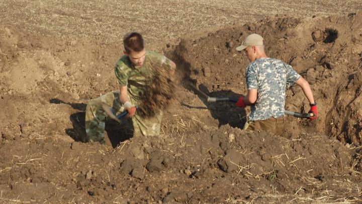 Их первый бой стал последним: в Ростовской области нашли останки бойцов советского штурмового отряда