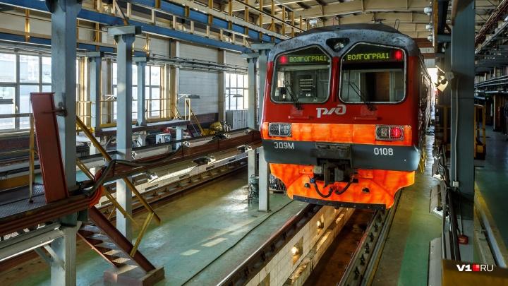 «Песни и интеллектуальные игры»: в Волгограде электричку превратят в музыкальный поезд