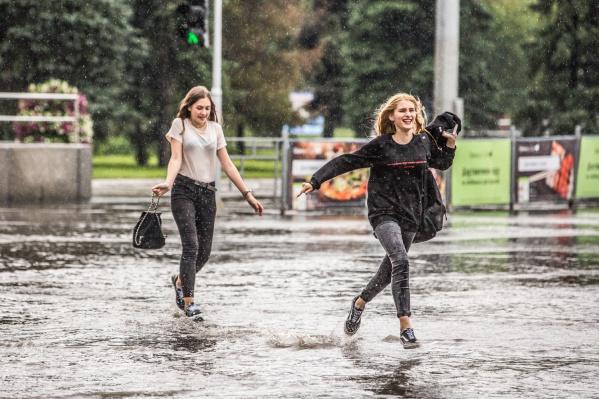 Дожди в Новосибирске перестанут идти к субботе