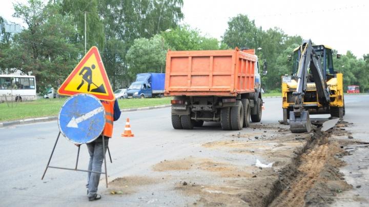 Из-за ремонта дороги в Ярославле отменили бесплатные автобусы