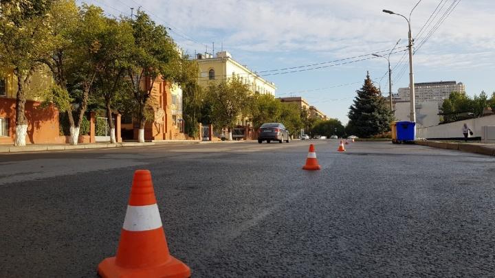 Инаугурация губернатора лишила волгоградцев парковок на Советской