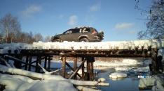 Нижегородские джиперы отправились в зимнюю экспедицию по лесам близ Горьковского моря