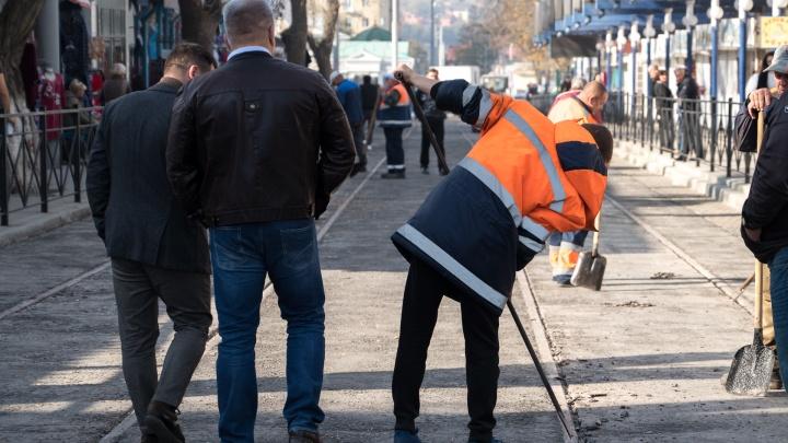По улице Станиславского с 28 октября обещают запустить трамваи