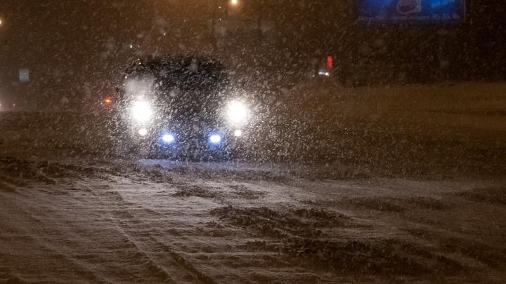 Первое смертельное ДТП в новом году — иномарка сбила пешехода под Новосибирском