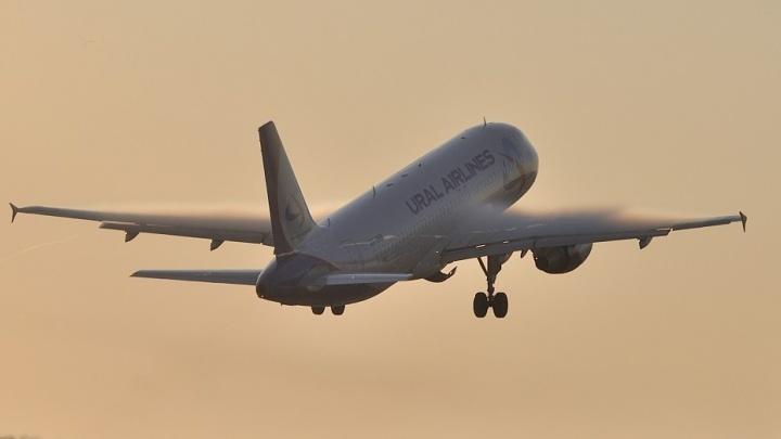 """В самолёте """"Уральских авиалиний"""", который летел в Симферополь, сработала пожарная сигнализация"""