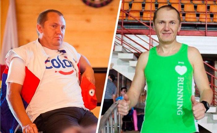 В 2015 году Владимир весил больше центнера и подумать не смел, что будет бегать марафоны