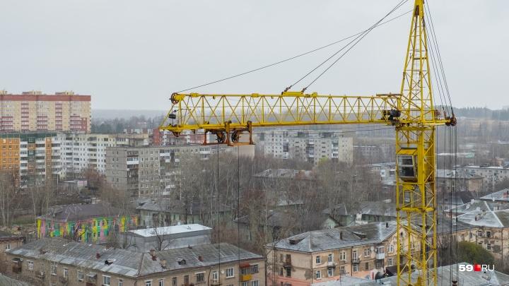 В Перми планируют построить небоскреб с бассейном, отелем и крытым катком