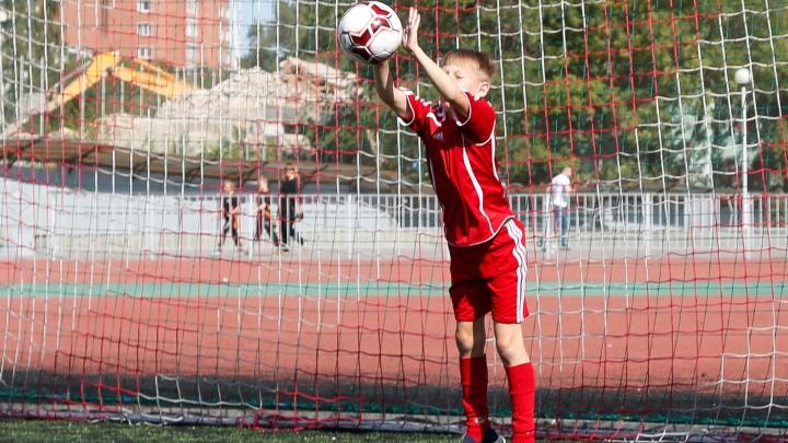 Легенда «Спартака» дал старт работе футбольной школы красно-белых в Челябинске