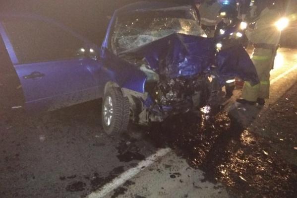 Авария произошла на трассе Чебаркуль — Мисяш — М-5