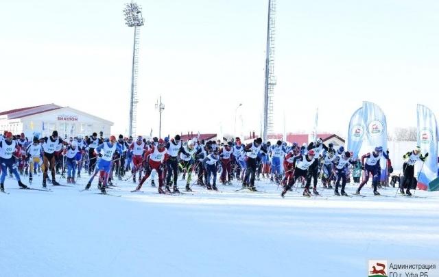 Сотни лыжников из разных стран поборолись за медали в Уфе