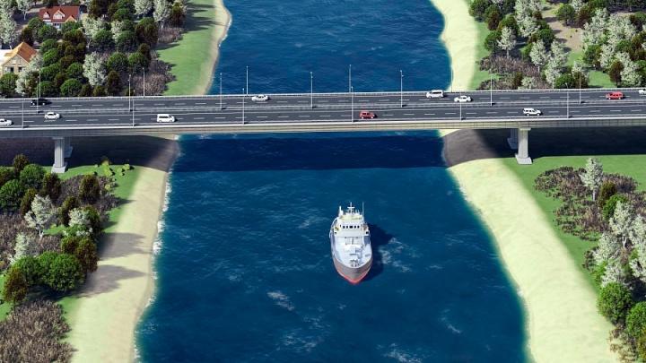 Под Волгоградом начали строить мост-дублер через Волго-Донской канал