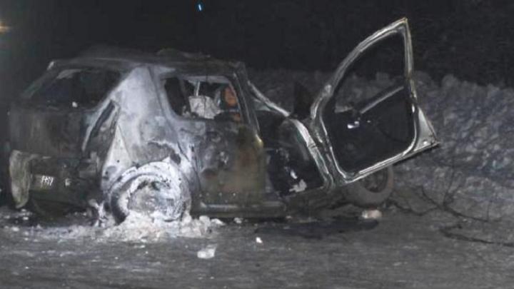 На трассе в Прикамье столкнулись Renault и «Газель»: водители погибли