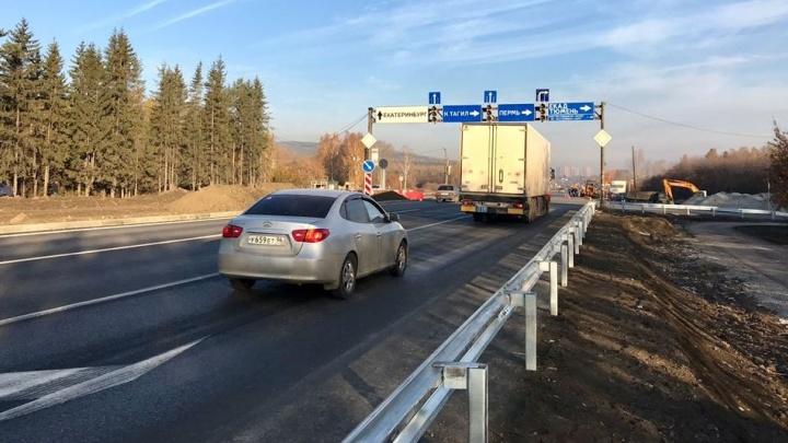 Дорожники: после отключения светофоров на пересечении ЕКАД и Челябинского тракта исчезли пробки