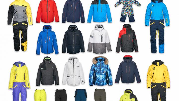 В магазине «Пять сезонов» возле стадиона «Спартак» началась распродажа зимних курток и горнолыжной одежды