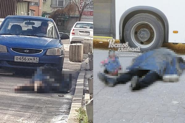 В Ростове не хватает спецтехники для вывоза трупов, поэтому они часами лежат на улицах