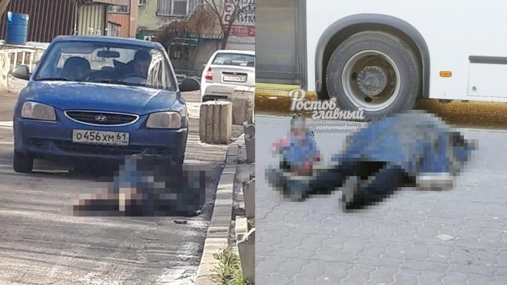 На улицах Ростова за день скончались два человека