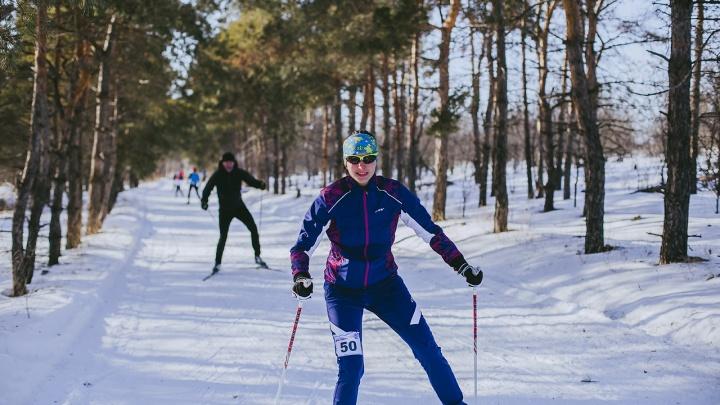 «Погода нашептала настроение»: волгоградцы разогнались на трассе перед «Лыжней России»