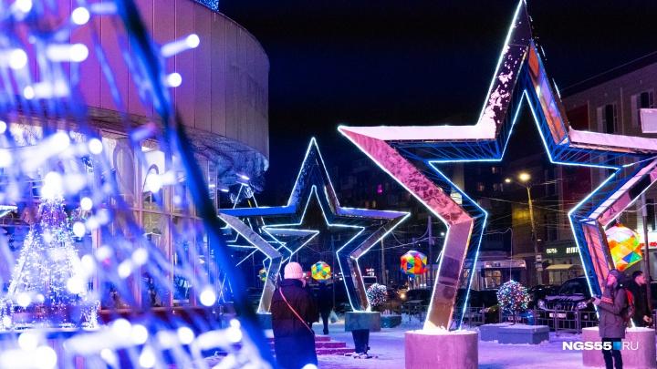 Как в сказке: любуемся новогодним украшением Омска