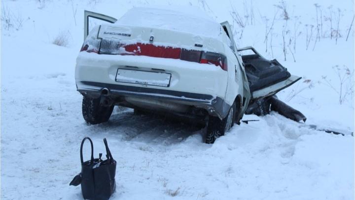 После аварии с КАМАЗом погибла омичка