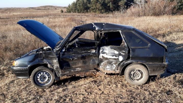 На московской трассе в аварию попали два микроавтобуса