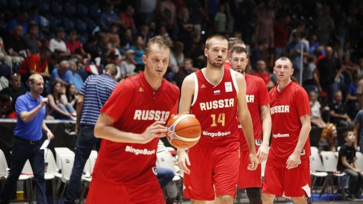 Сборная России по баскетболу сыграет в Перми с Финляндией