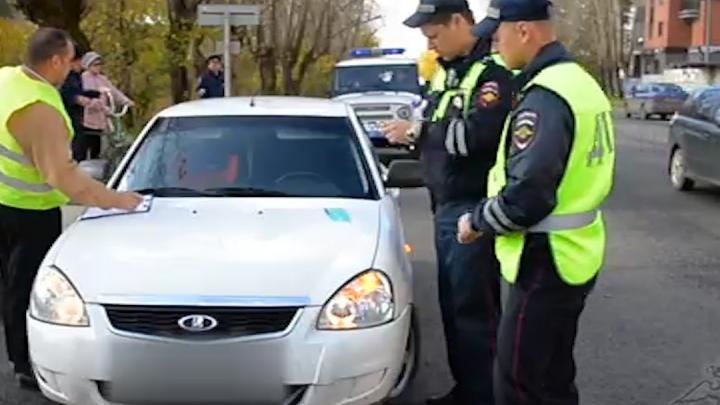В Перми таксист насмерть сбил мужчину, который выскочил на дорогу