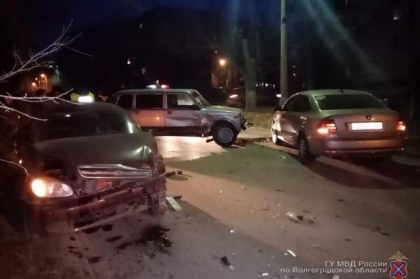 В аварии пострадала 18-летняя женщина