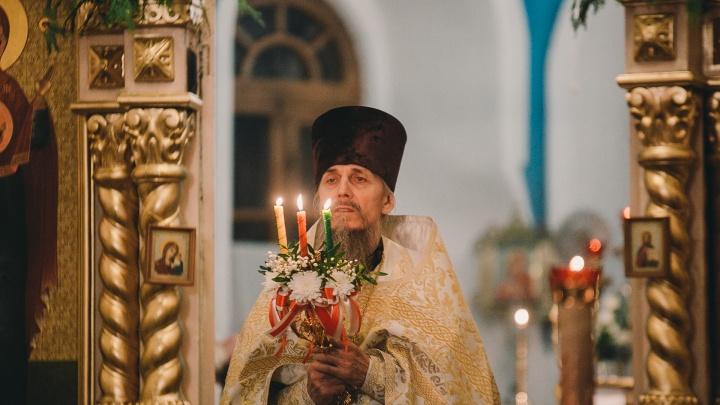 Светлый праздник Пасхи в тюменском соборе: 15 эмоциональных кадров с ночной службы