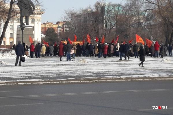 Коммунисты требуют приостановить реформу, которую они считают антинародной, до следующего года