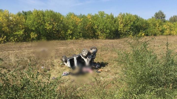 Вылетели в кювет: на трассе под Самарой в ДТП погибли два человека