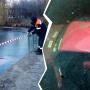 «Спасатели увиделиследы дрифтинга»: в Тольятти легковушка утонула в Волге