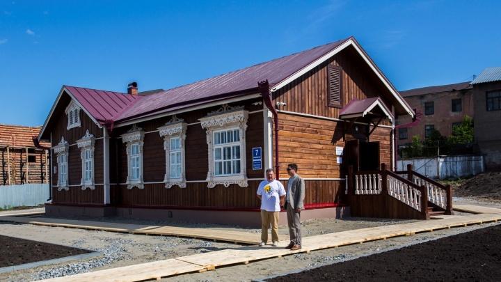 В Новосибирске открыли музей в одном из первых домов в городе