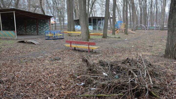 В Ростове рядом с парком «Осенний» построят новый детский сад на месте заброшенного