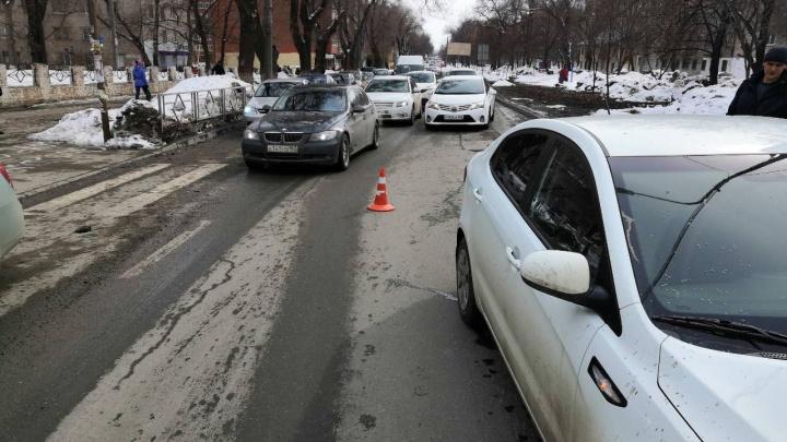 В Самаре автомобиль сбил 14-летнего мальчика