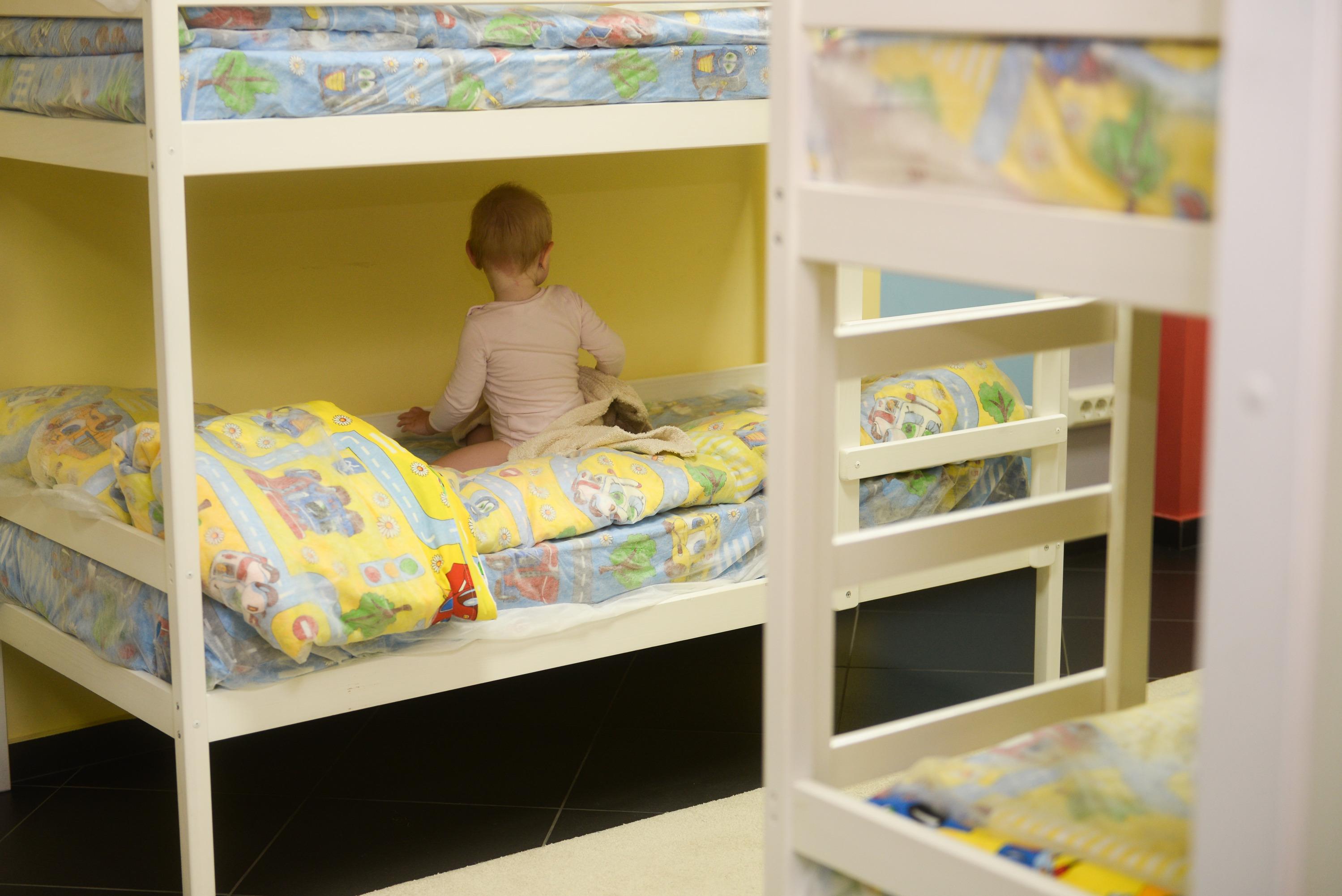 Дети до трех лет могут поспать прямо в аквапарке