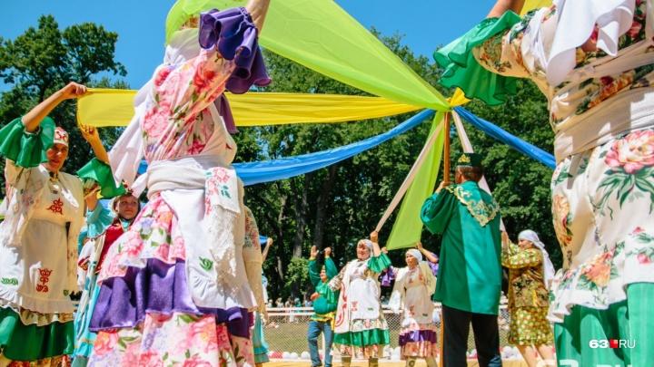 Танцы, состязания и национальный колорит: в Самаре пройдет Сабантуй