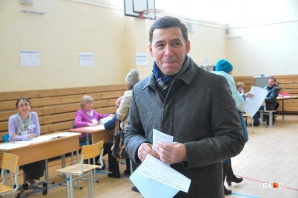 Губернатор считает, что мэра Екатеринбурга должны выбирать депутаты, а не жители