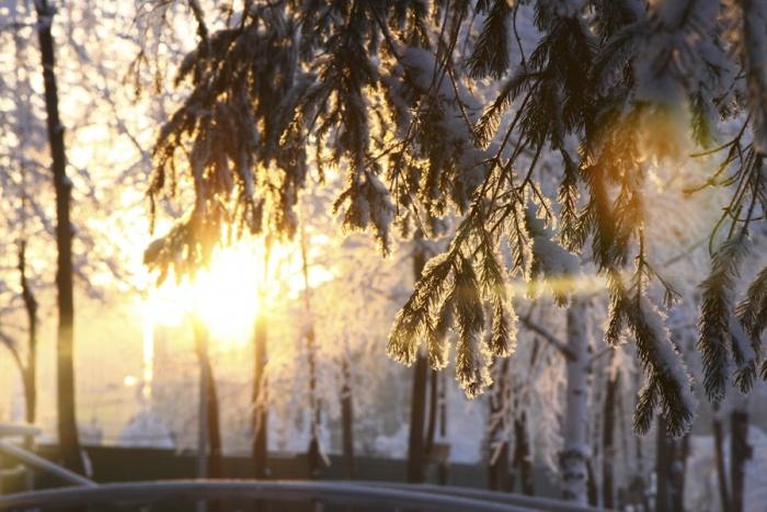 В четверг днём температура опустится до –10 градусов