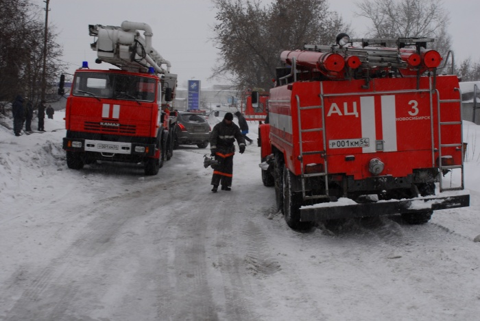 Перед пожаром случилось короткое замыкание, предполагают в МЧС. Фото из архива НГС