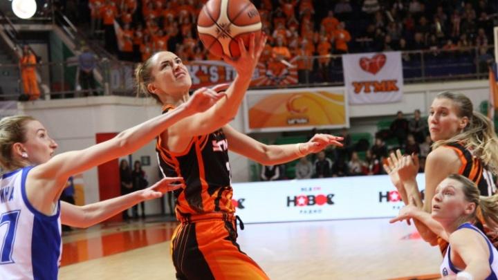 Баскетболистки УГМК разгромили московское «Динамо» и одержали самую крупную победу сезона