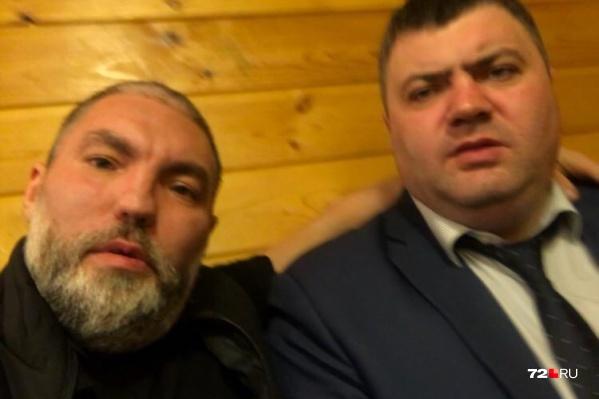 Денис Девкин и Павел Робакидзе