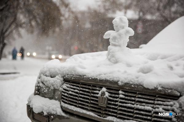 Во вторник, 17 декабря, в Новосибирске пройдёт лёгкий снег, в последующие двое суток будет преимущественно без осадков