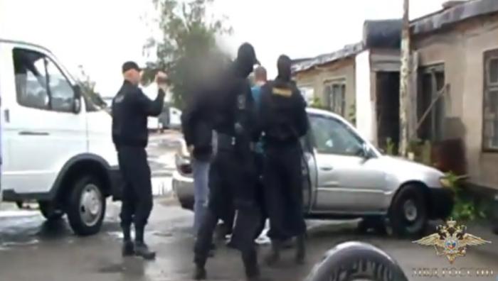 Задержание мужчины в Новосибирске