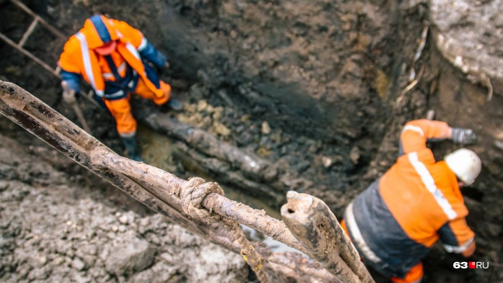 В Самаре почти три десятка жилых домов оставили без холодной воды