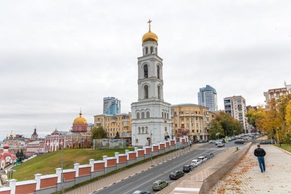 Центр города многолик: высотки соседствуют с историческими зданиями